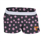 Soffe Girls' University of Tennessee Printed Authentic Low Rise Short