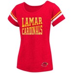 Colosseum Athletics™ Girls' Lamar University Fading Dot T-shirt