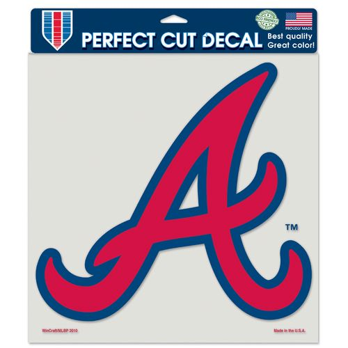 WinCraft Atlanta Braves Perfect Cut Color Decal