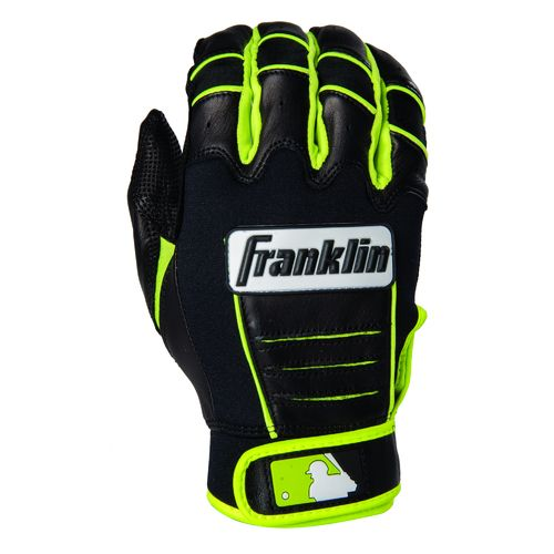Franklin Adults' David Ortiz CFX Pro Signature Series Batting Gloves