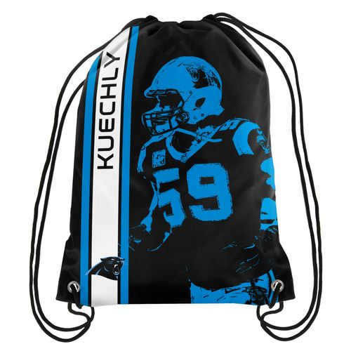Team Beans Carolina Panthers Luke Kuechly #59 Drawstring Backpack