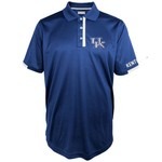 Majestic Men's University of Kentucky Section 101 Short Sleeve Colorblock Polo Shirt