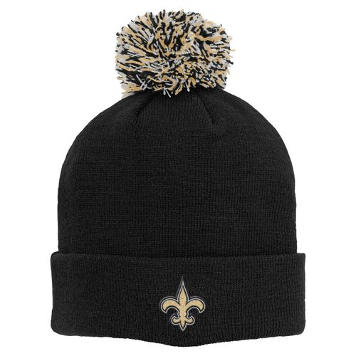 NFL Boys' New Orleans Saints Basic Cuff Knit Cap