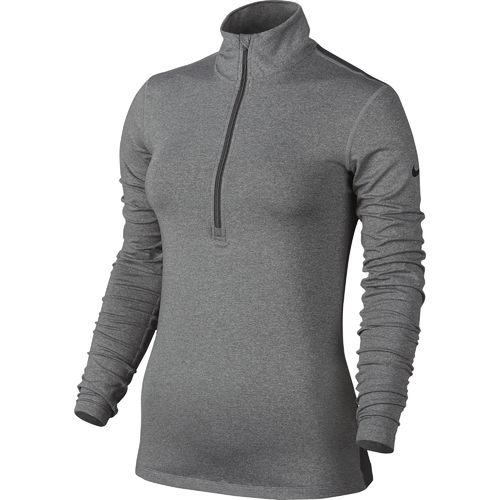 Display product reviews for Nike Women's Pro Warm 1/2 Zip Long Sleeve Top