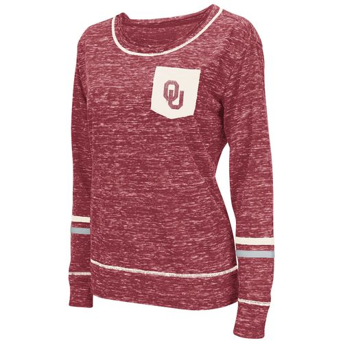 Colosseum Athletics™ Women's University of Oklahoma Homies Raw