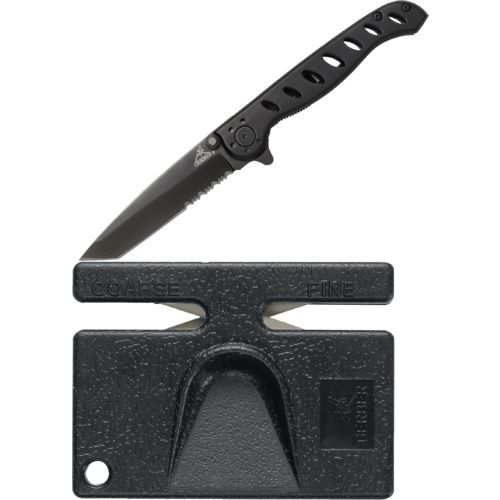 Display product reviews for Gerber® Evo Mid Folding Knife and Pocket Sharpener Combo Pack