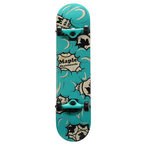 "Bravo Sports Maple Masters 31"" Burnt Rubber Skateboard"
