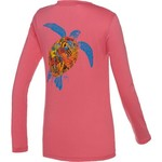 Guy Harvey Women's Turtle Reef Long Sleeve T-shirt