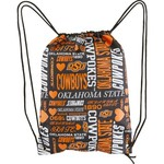 Forever Collectibles™ Women's Oklahoma State University Drawstring Backpack