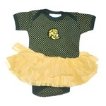 Two Feet Ahead Infant Girls' Southeastern Louisiana University Pin Dot Tutu Creeper