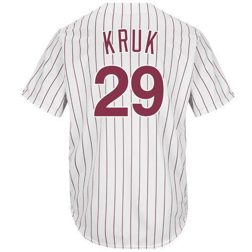Majestic Men's Philadelphia Phillies John Kruk #29 Cool Base Cooperstown Jersey - view number 1