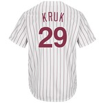 Majestic Men's Philadelphia Phillies John Kruk #29 Cool Base Cooperstown Jersey