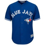 Majestic Men's Toronto Blue Jays Marco Estrada #25 Cool Base Replica Jersey - view number 3