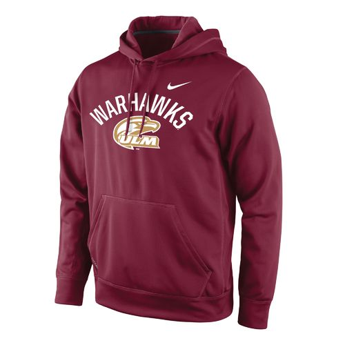 Nike™ Men's University of Louisiana at Monroe Therma-FIT Pullover Hoodie