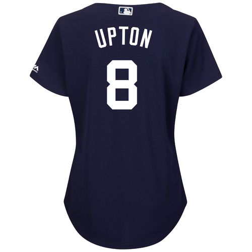 Majestic Women's Detroit Tigers Justin Upton #8 Authentic Cool Base Jersey - view number 1