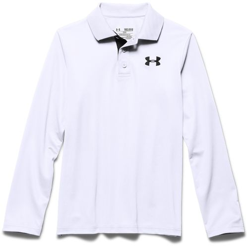 Under Armour Boys' Match Long Sleeve Polo Shirt - view number 3