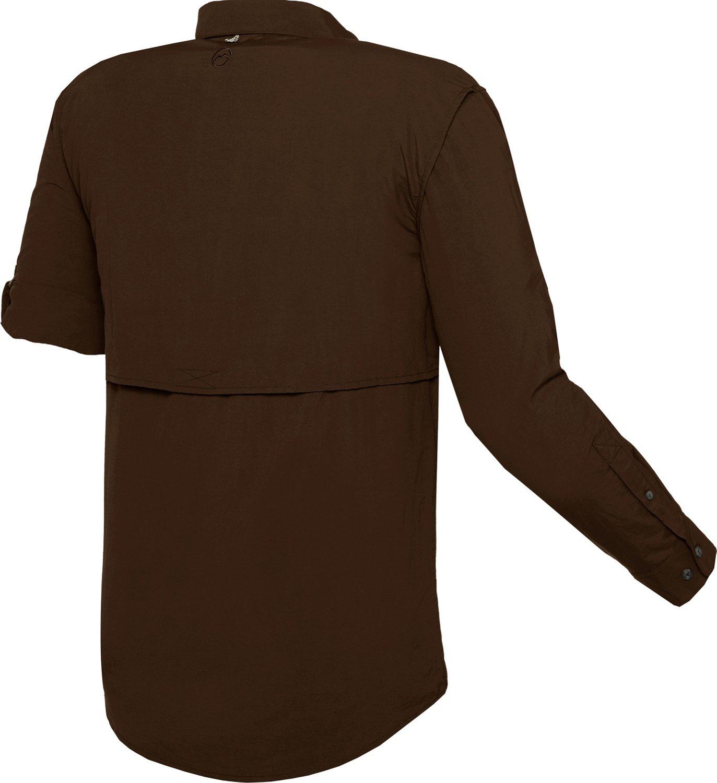 Magellan outdoors men 39 s fish gear laguna madre long sleeve for Magellan fishing shirts wholesale