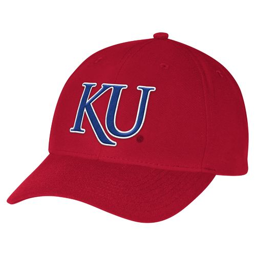 adidas Men's University of Kansas Structured Adjustable Cap - view number 1