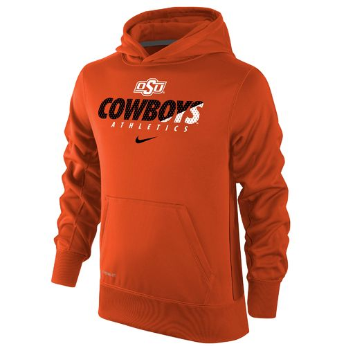 Nike Boys' Oklahoma State University Therma-FIT KO Hoodie