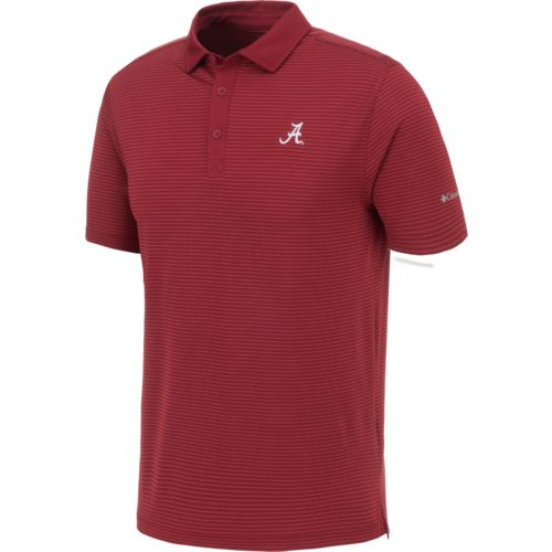 Display product reviews for Columbia Sportswear Men's University of Alabama Omni-Wick Sunday Polo Shirt