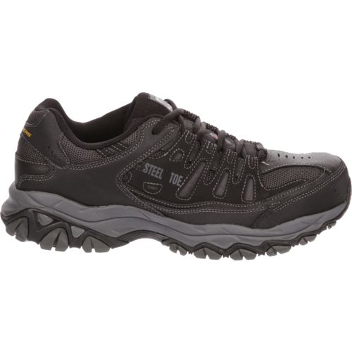 Display product reviews for SKECHERS Men's Relaxed Fit® Cankton Lace ST Shoes