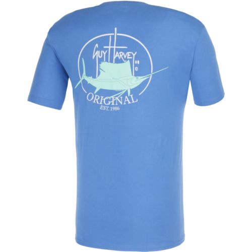 Display product reviews for Guy Harvey Men's Original Fin Pocket T-shirt