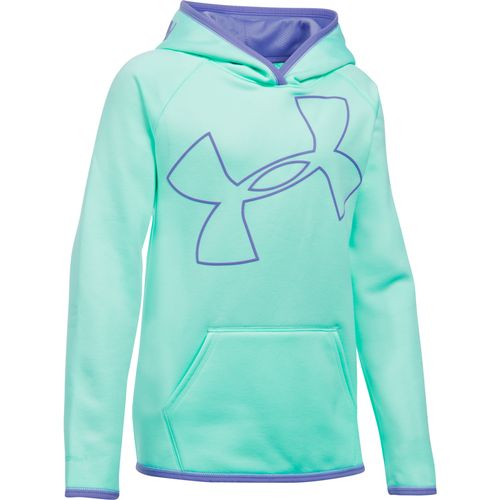 Under Armour™ Girls' Storm Armour Fleece Novelty Big Logo Hoodie