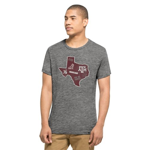 '47 Texas A&M University State Outline Multilogo Field House T-shirt