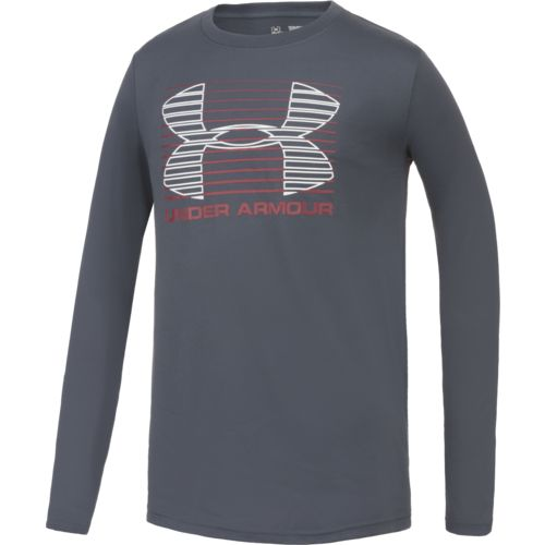 Display product reviews for Under Armour Boys' Breakthrough Logo Long Sleeve T-shirt