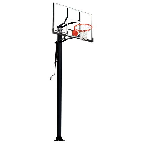 Silverback 54 in Inground Tempered-Glass Basketball Hoop - view number 1