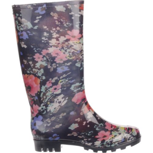 Display product reviews for Austin Trading Co.™ Women's Floral PVC Boots