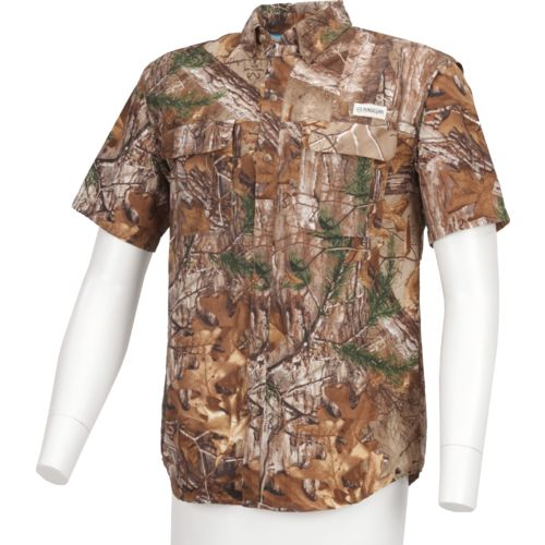 Display product reviews for Magellan Outdoors Men's Laguna Madre Realtree Short Sleeve Shirt