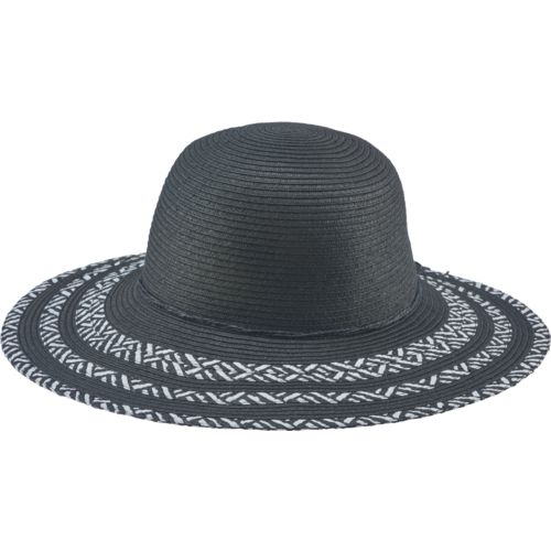 O'Rageous Women's 2-Tone Striped Sun Hat