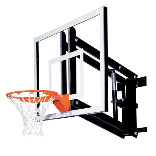 Goalsetter 48' Wall-Mount Adjustable Glass Basketball Goal System