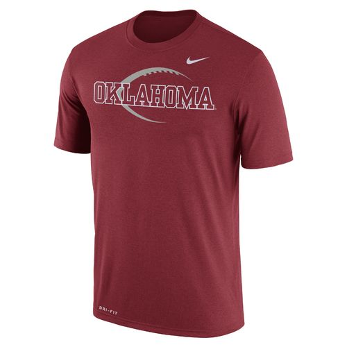 Nike™ Men's University of Oklahoma Dri-FIT Legend Icon 17 T-shirt