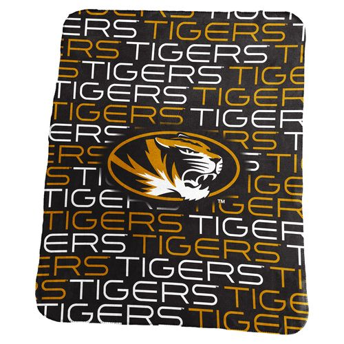 Logo University of Missouri 50 in x 60 in Classic Fleece Blanket
