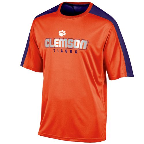 Champion™ Men's Clemson University Colorblock T-shirt