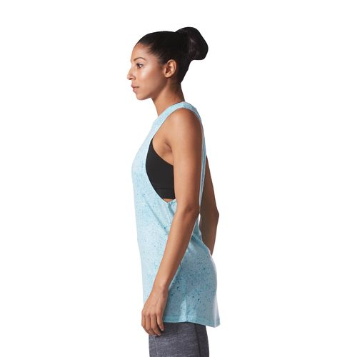 adidas Women's Flecks Muscle Tank Top - view number 7