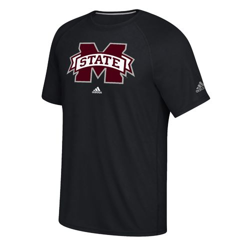 adidas Men's Mississippi State University School Logo Ultimate T-shirt - view number 1