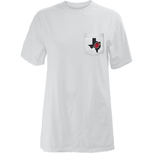 Three Squared Juniors' Lamar University Boho Arrow Pocketed T-shirt - view number 2