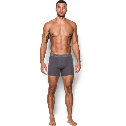 Under Armour Men's Charged Cotton Stretch 6 in Boxerjock Boxer Briefs 3-Pack - view number 3