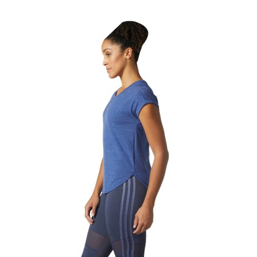 adidas Women's Performer Hi Lo Training T-shirt - view number 3