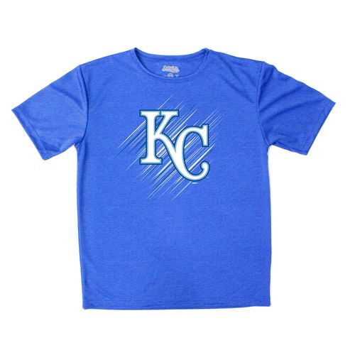 Stitches Boys' Kansas City Royals Sidewinder Short Sleeve T-shirt