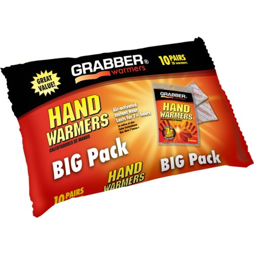 Display product reviews for Game Winner® Grabber Hand Warmers 10-Pack