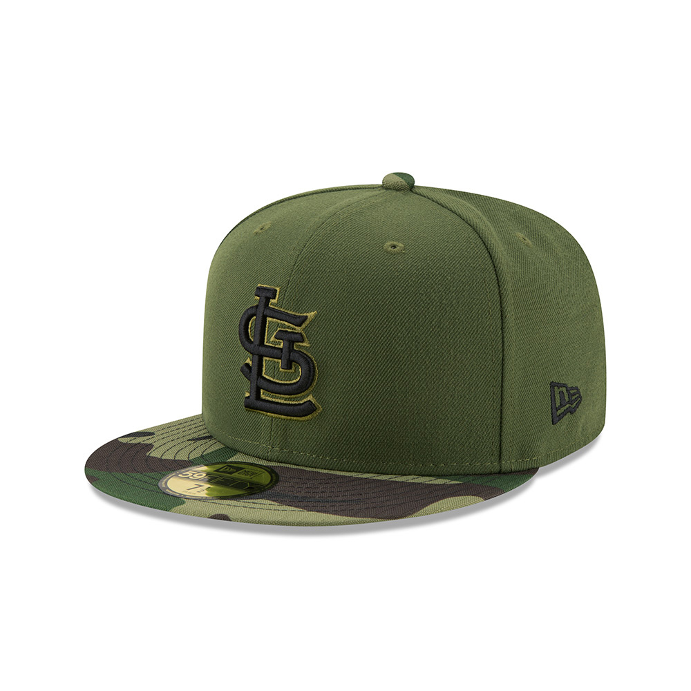 New Era Men's St. Louis Cardinals SE17 Memorial Day 59FIFTY Cap - view number 2