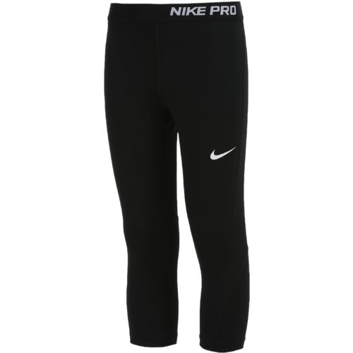 Nike Girls' Pro Cool Capri Pant - view number 3