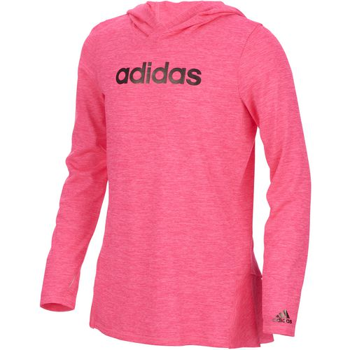 adidas Girls' Hustle Your Bustle climalite Performance Hoodie