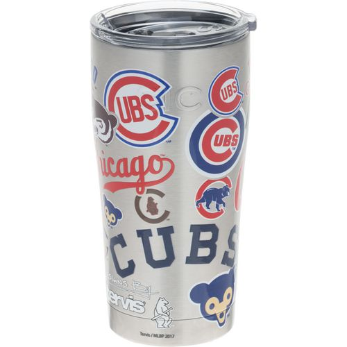 Tervis Chicago Cubs 20 oz All Over Stainless-Steel Tumbler