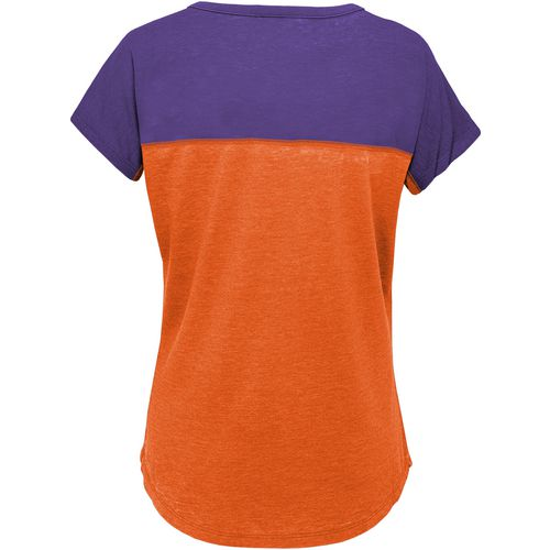 Gen2 Girls' Clemson University Tribute Football T-shirt - view number 2