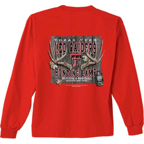 New World Graphics Men's Texas Tech University Hunt Long Sleeve T-shirt
